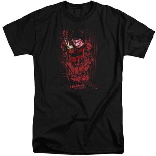 Nightmare On Elm Street tall shirts