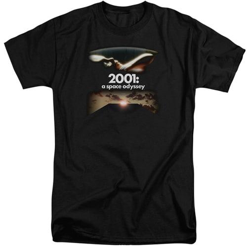 2001 A Space Odyssey Tall Shirt