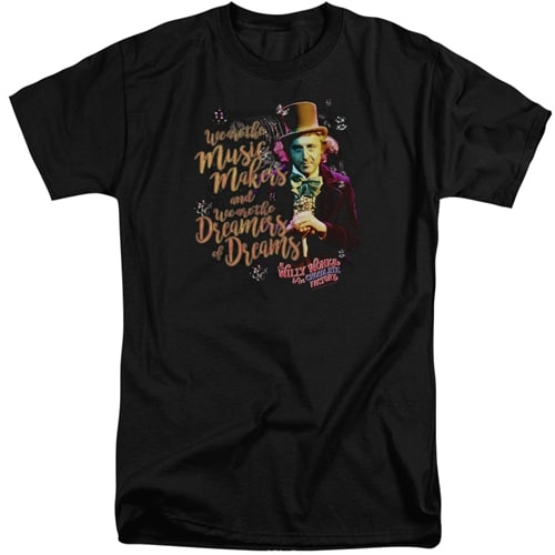 Willy Wonka Movie Tall Shirt