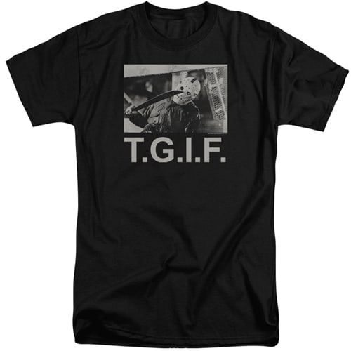 Friday the 13th tall shirts