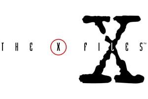x-files tall logo