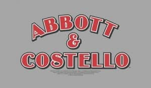 Abbot & Costello Licensing Image